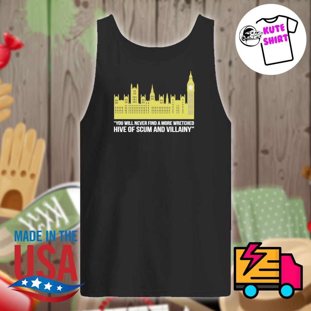 You will never find a more wretched hive of scum and villainy s Tank-top