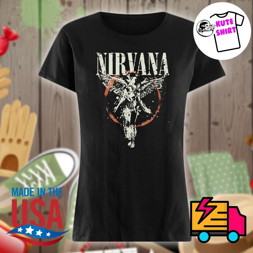 Nirvana Galaxy In Utero s Ladies t-shirt