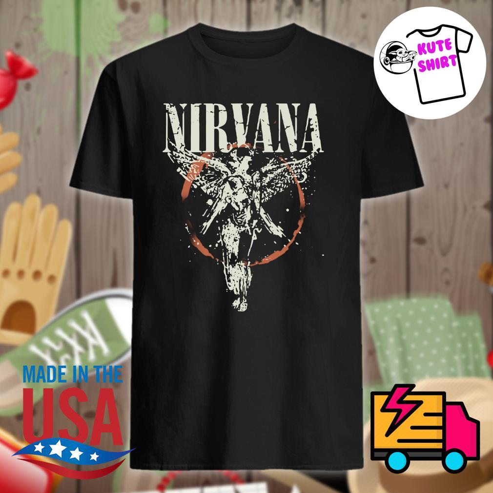 Nirvana Galaxy In Utero shirt