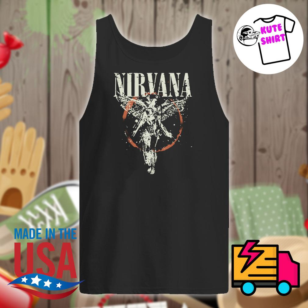 Nirvana Galaxy In Utero s Tank-top