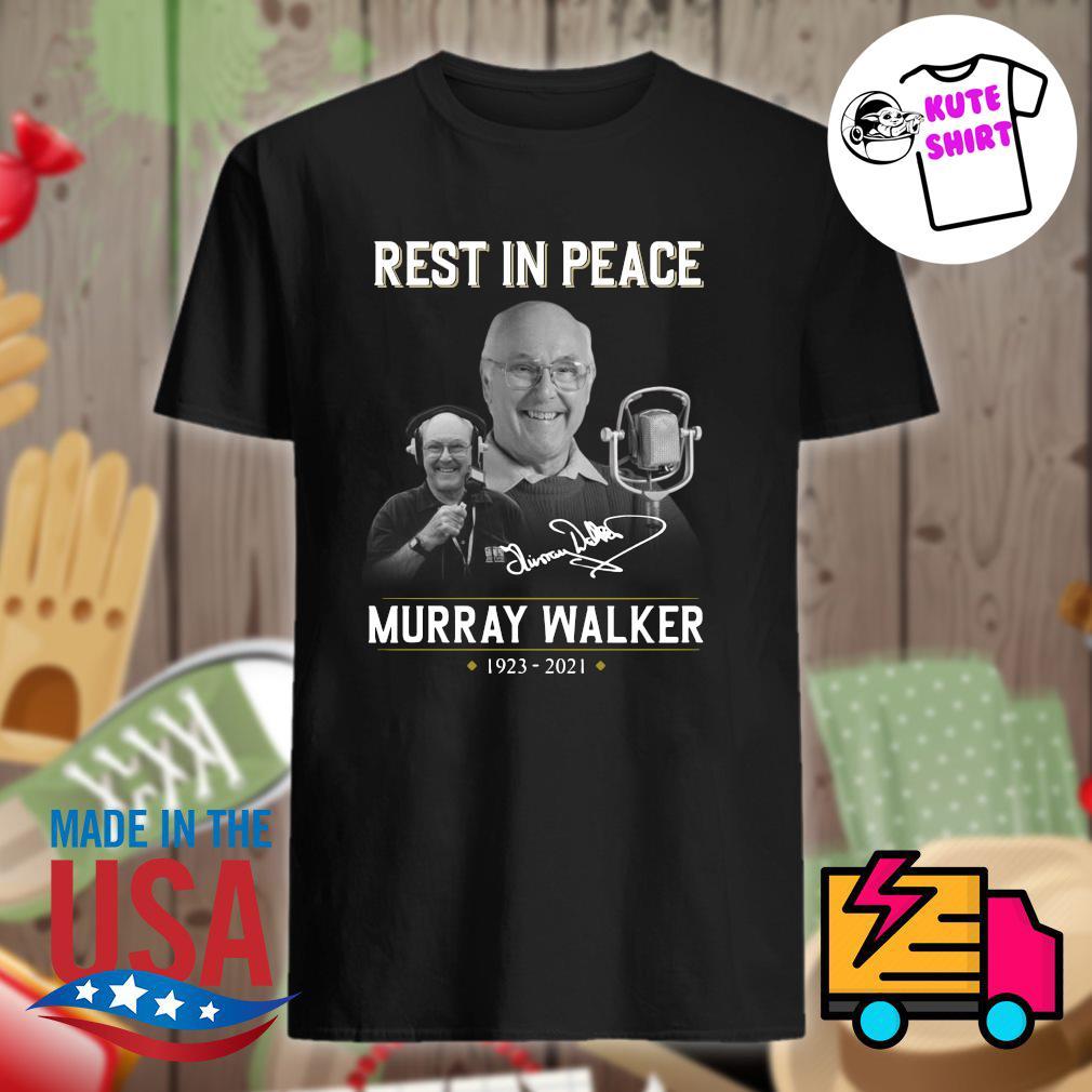 Rest in peace Murray Walker 1923 2021 signature shirt