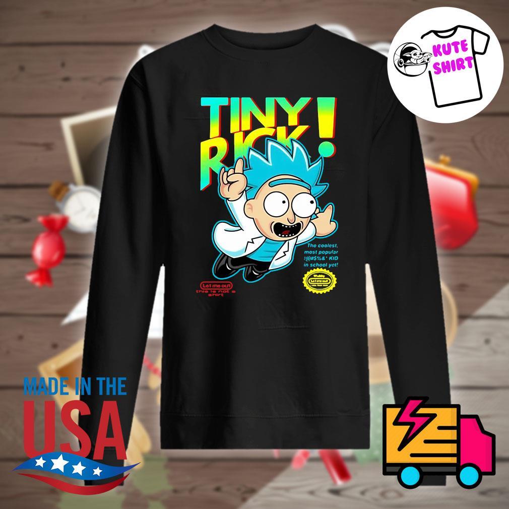 Rick Sanchez Tiny Rick s Sweater