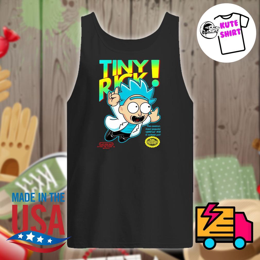 Rick Sanchez Tiny Rick s Tank-top
