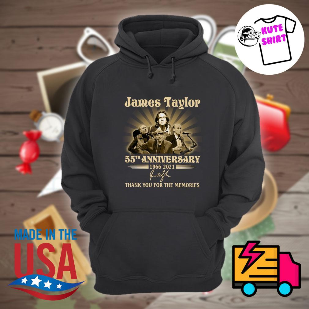 James Taylor 55th anniversary 1966 2021 signature thank you for the memories s Hoodie