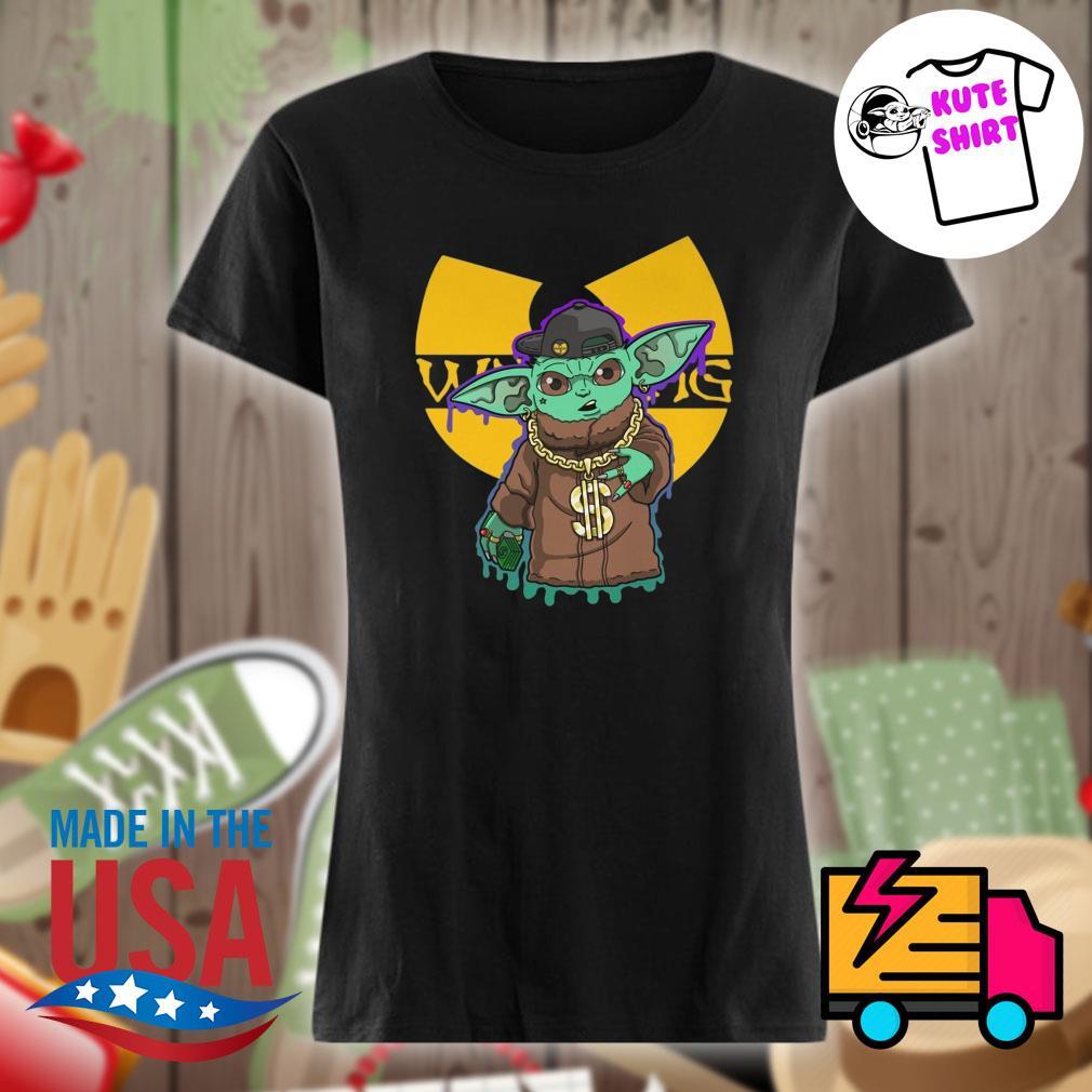 Yoda hip hop Wutang clan s Ladies t-shirt