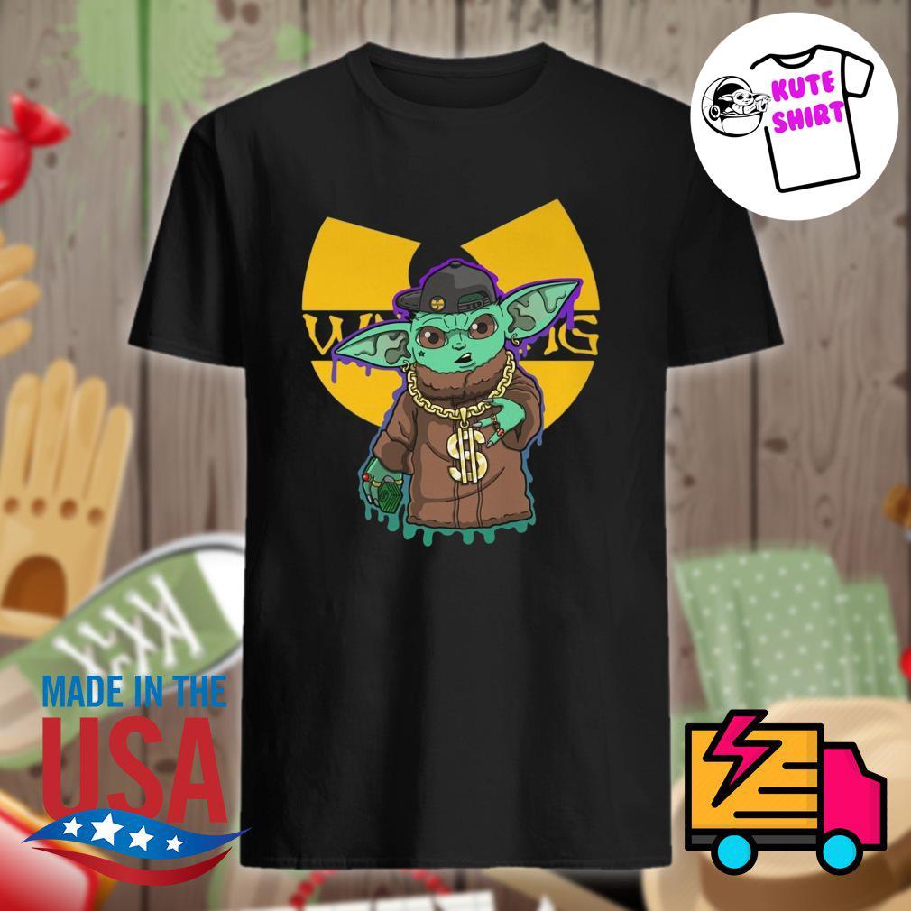 Yoda hip hop Wutang clan shirt