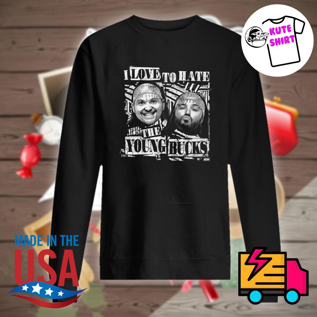 I love to hate the Young Bucks s Sweater