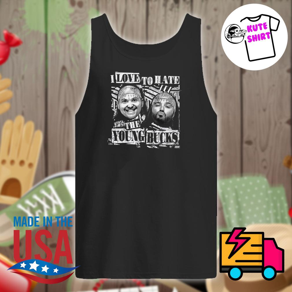I love to hate the Young Bucks s Tank-top