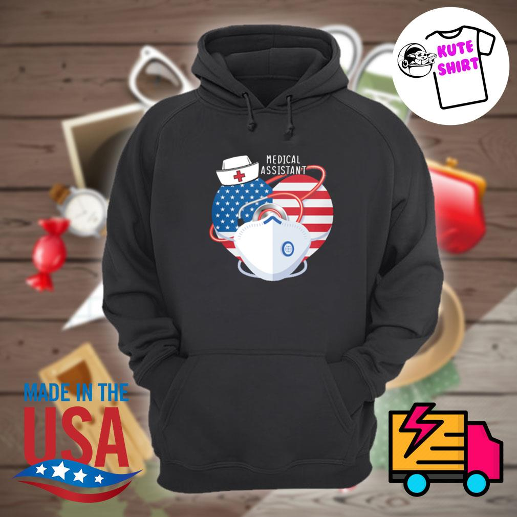 Nurse heart Medical Assistant s Hoodie