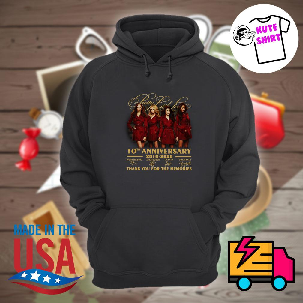 Pretty Little Liars 10th anniversary 2010 2020 thank you for the memories s Hoodie