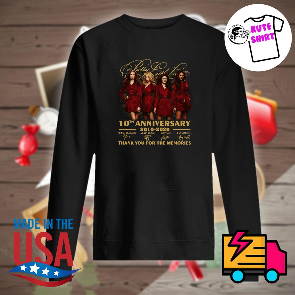 Pretty Little Liars 10th anniversary 2010 2020 thank you for the memories s Sweater