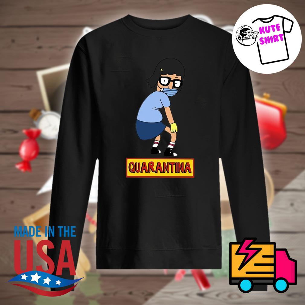 Stay home stay safe quarantina s Sweater