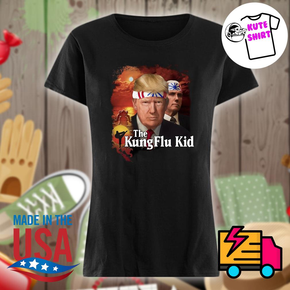 The Kung flu kid s Ladies t-shirt