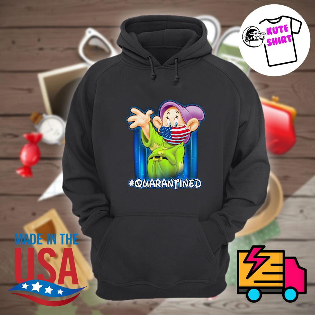 Dopey face mask American quarantined s Hoodie