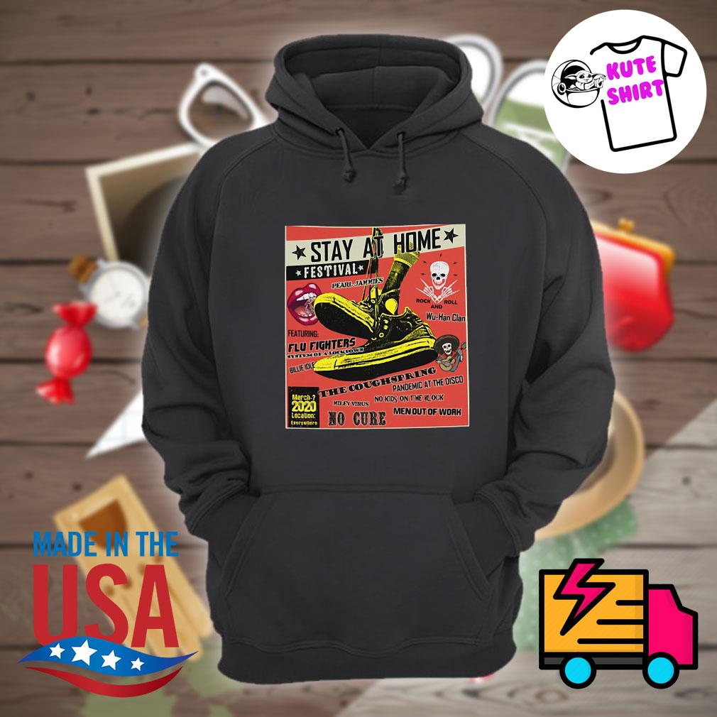 stay at home festival flu fighters the coughspring no cure s Hoodie