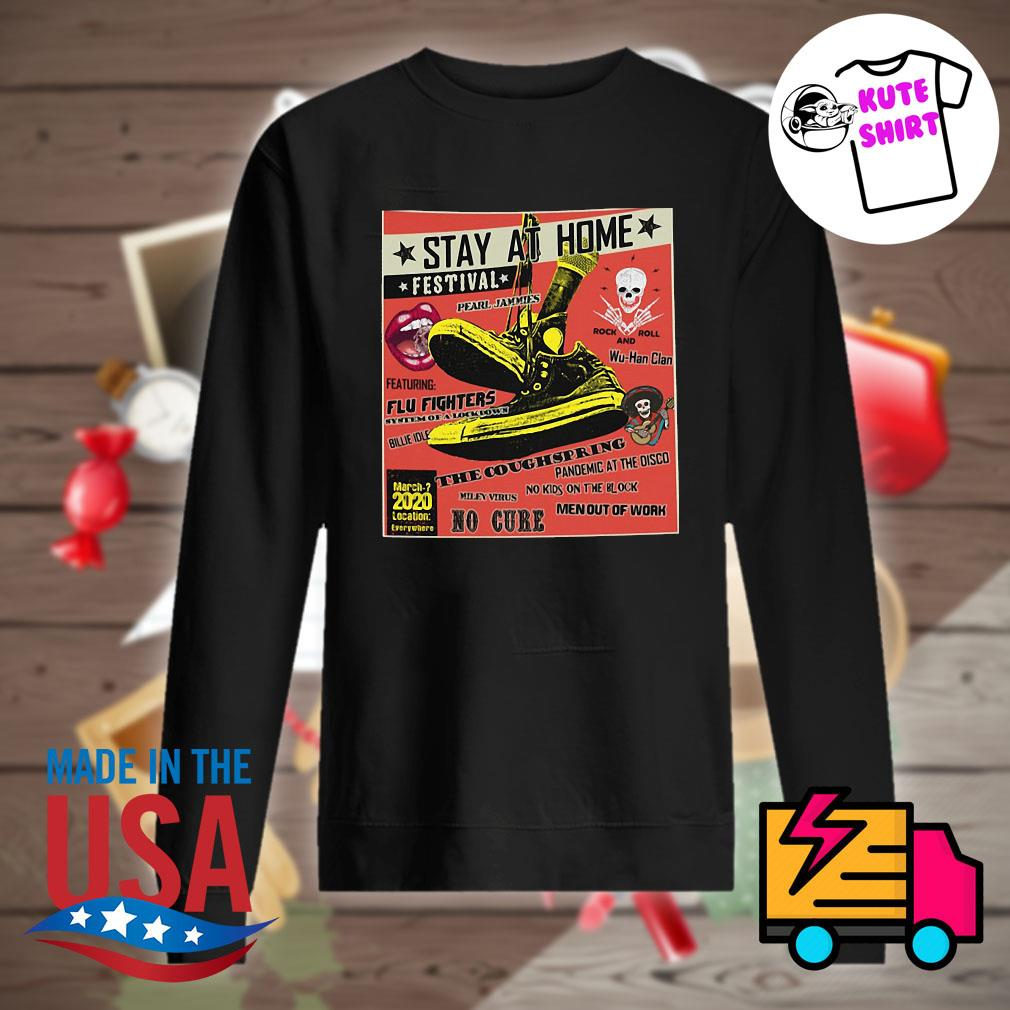 stay at home festival flu fighters the coughspring no cure s Sweater