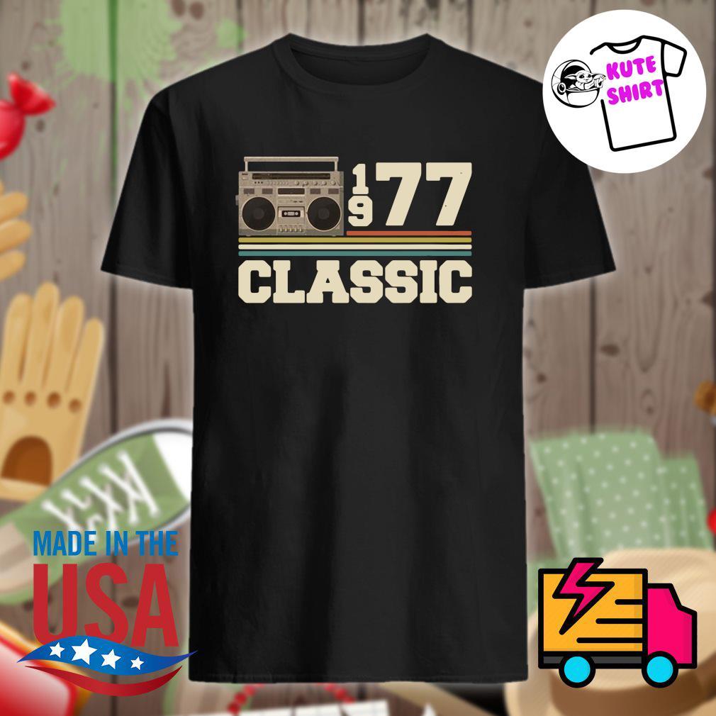 Cassette 1977 classic vintage shirt