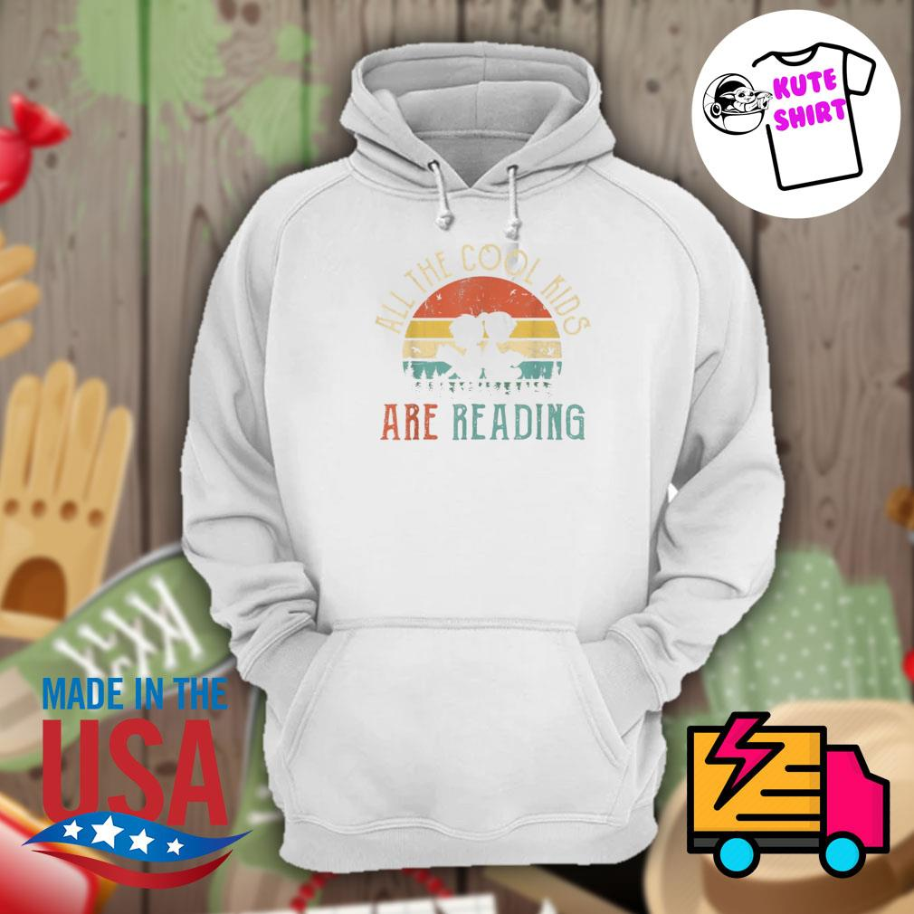 All the cool kids are reading vintage s Hoodie