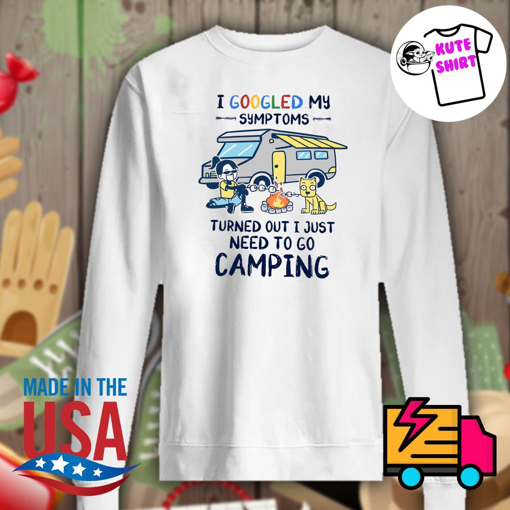 BBQ and dog I googled my symptoms turned out I just need to go camping s Sweater