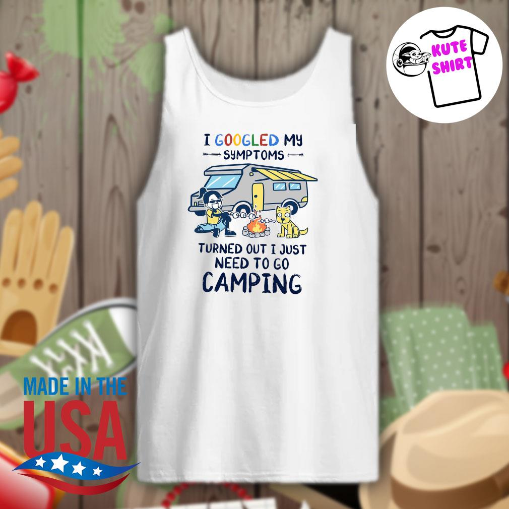 BBQ and dog I googled my symptoms turned out I just need to go camping s Tank-top