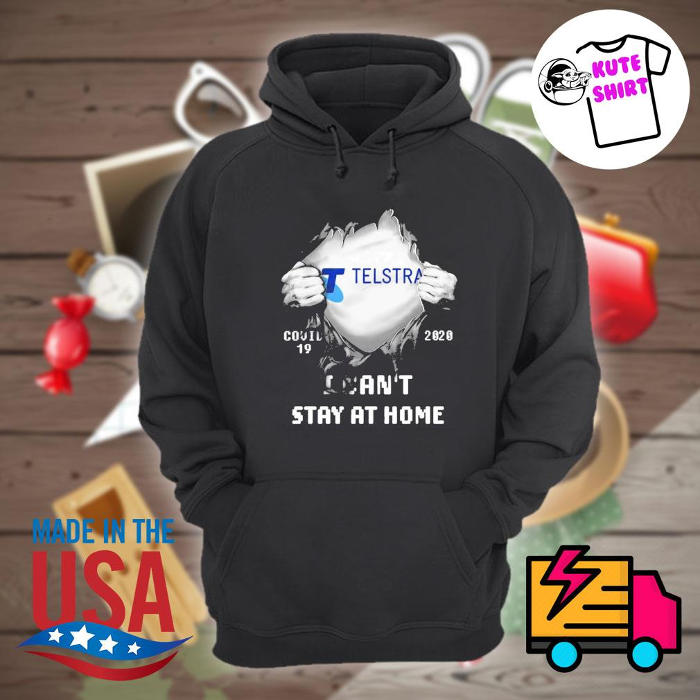 Blood inside me Telstra Covid 19 2020 I can't stay at home s Hoodie