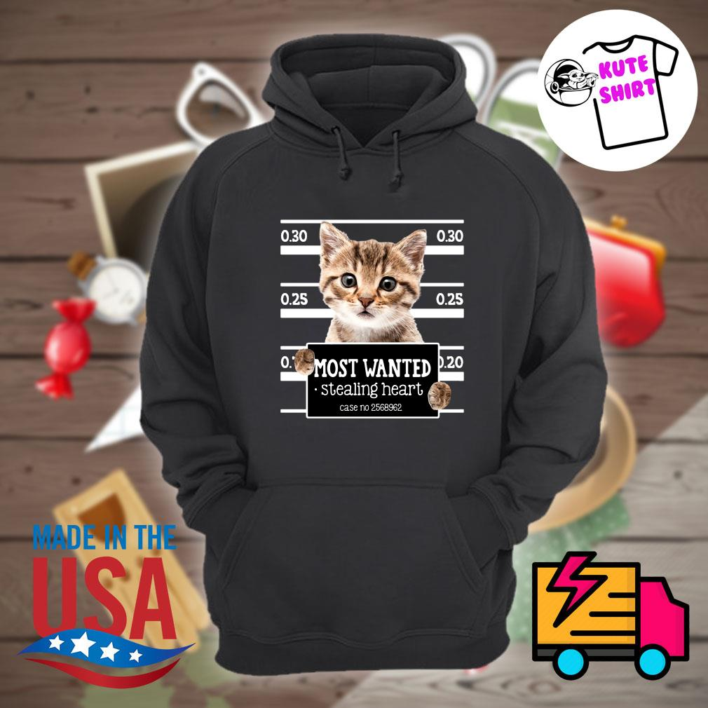 Cat most wanted stealing heart case no 2568962 s Hoodie