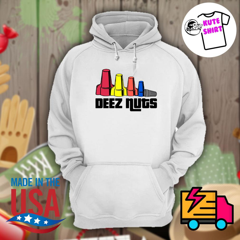 Deez Nuts Electrician s Hoodie