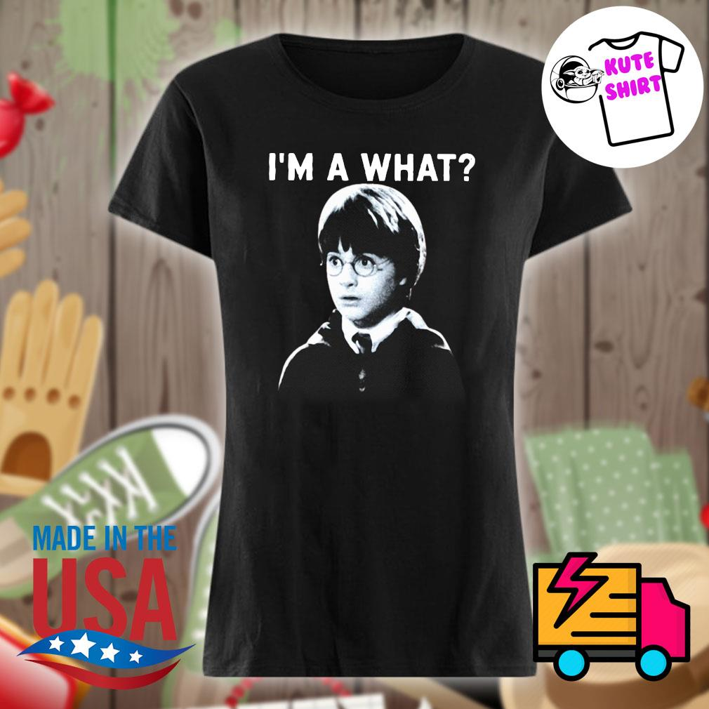 Harry Poster I'm a what s Ladies t-shirt