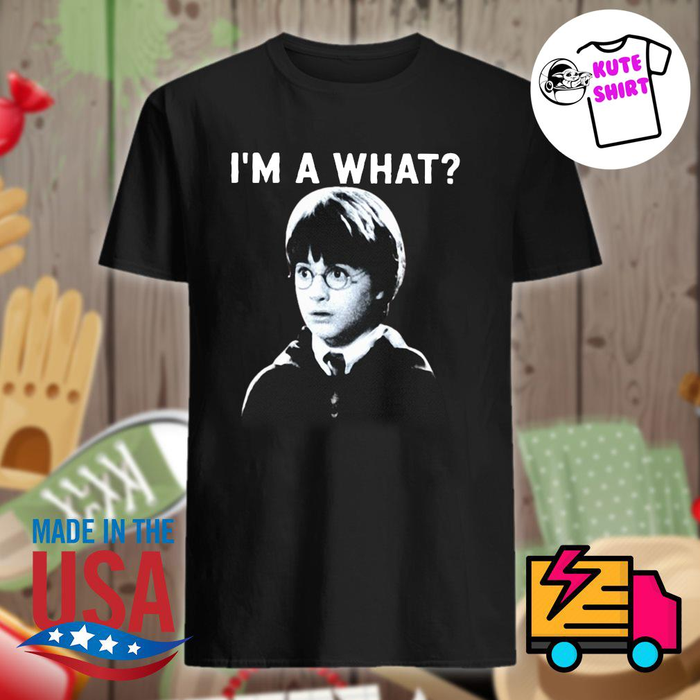 Harry Poster I'm a what shirt
