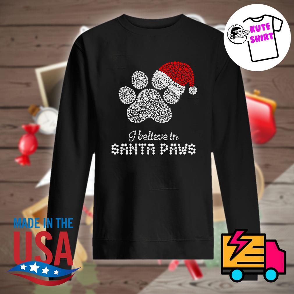 I believe in Santa Paws Merry Christmas s Sweater