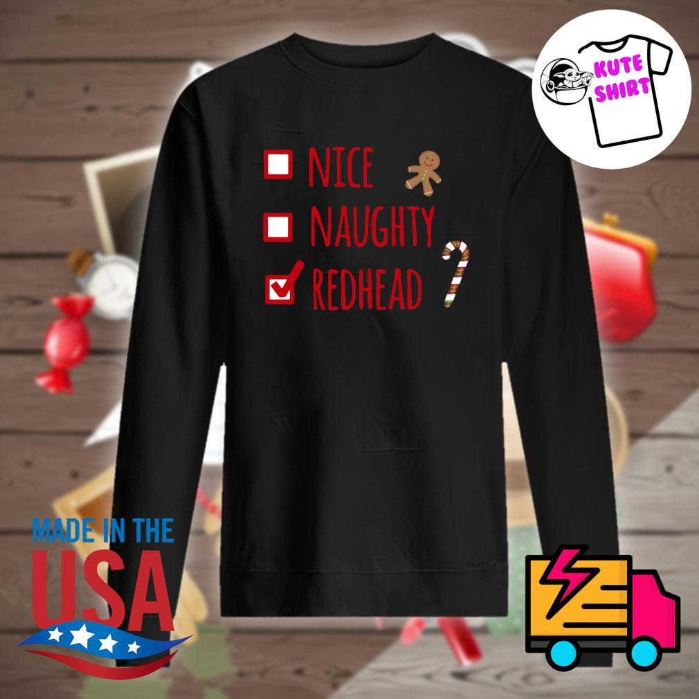 Nice Naughty Redhead s Sweater