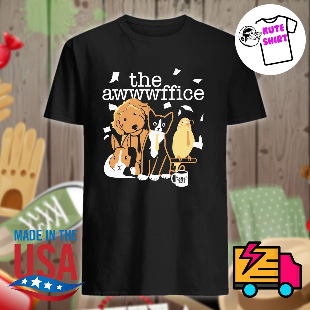 The awwwffice shirt