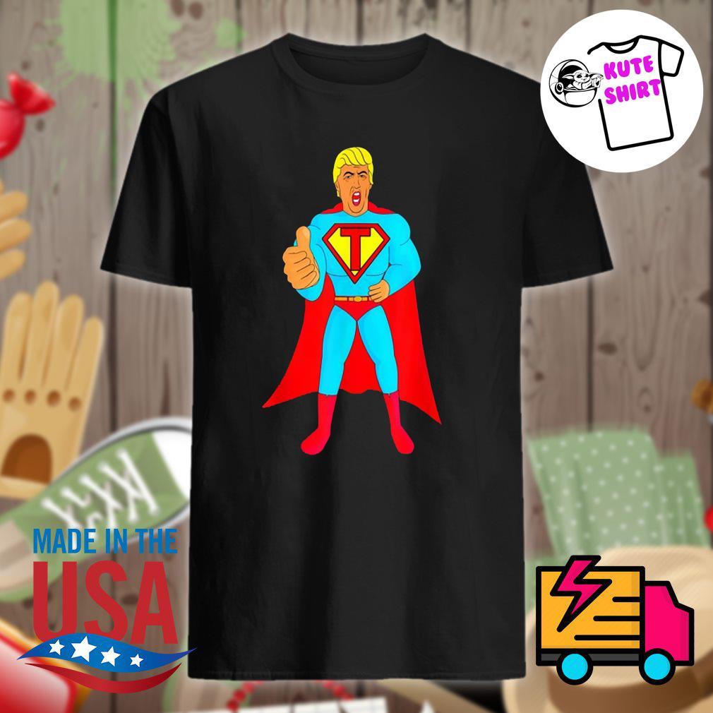 Trumpman 2020 funny super gift election Presidential 2020 shirt