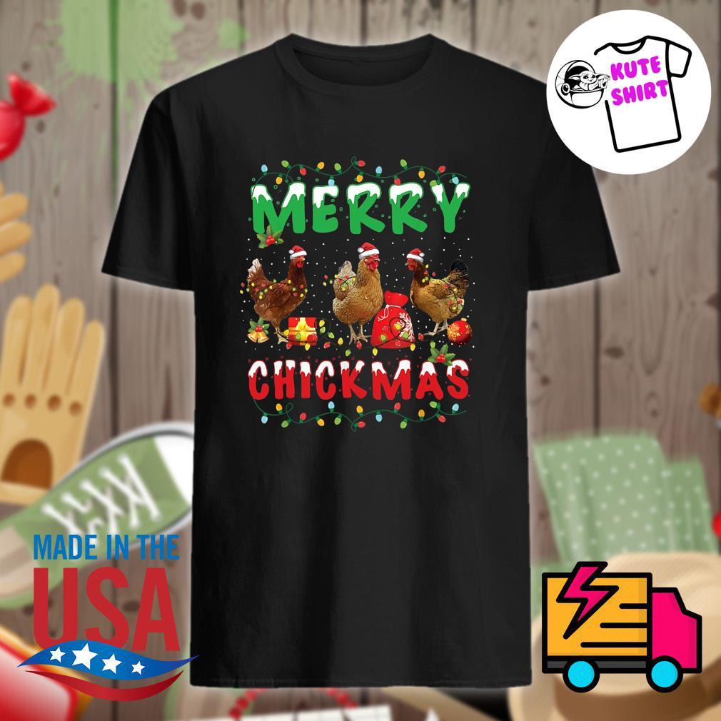 Chickens Merry Chickmas shirt