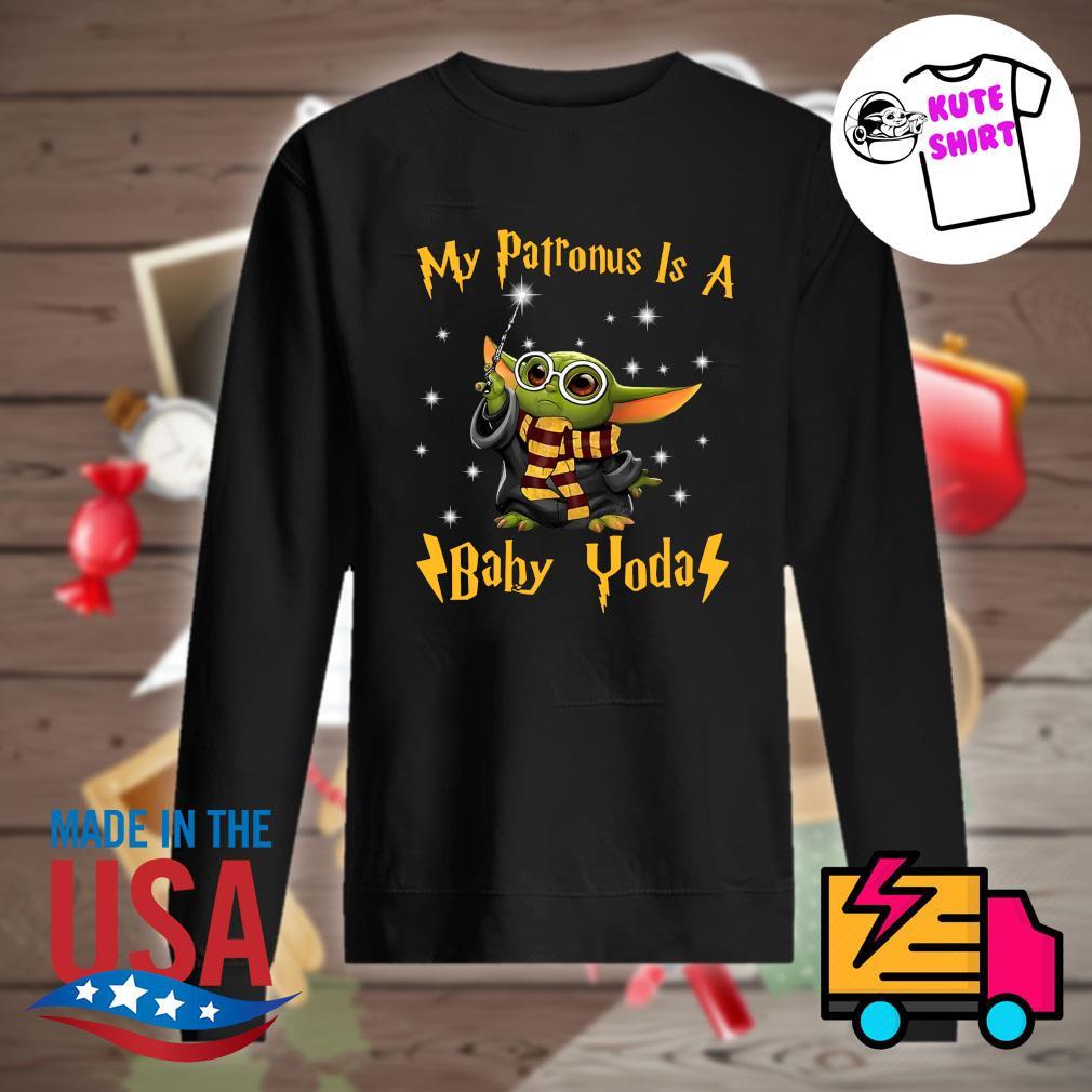 My patronus is a Baby Yoda s Sweater