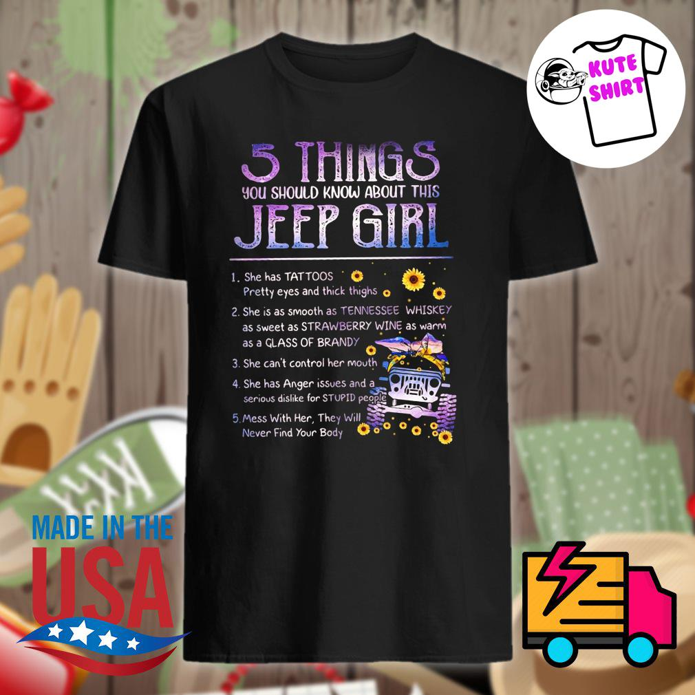 5 things you should know about this Jeep girl shirt