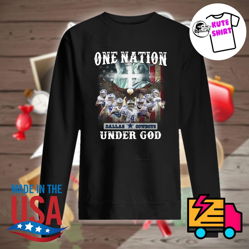 Official Dallas Cowboys one Nation under God s Sweater