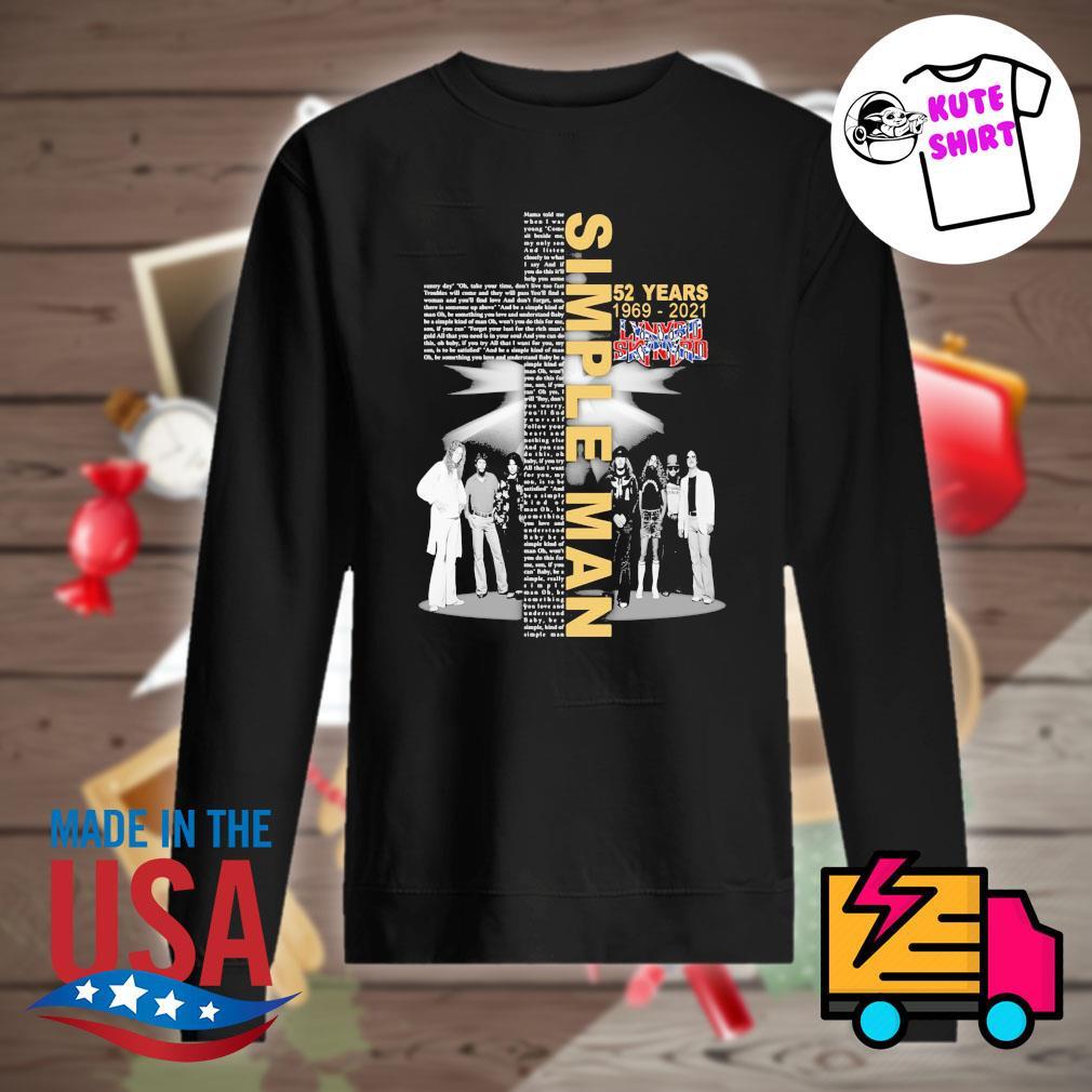 Simple Man 52 years 1969 2021 Lynyrd Skynyrd s Sweater